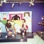 En Colima, entrevistaron a Susy Romero y a OGL para la televisión local, aprovechando que en ese entonces participaban en una Comicolima.