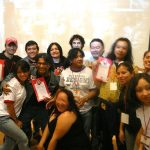 La foto del recuerdo con casi todos los participantes.