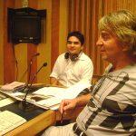 """Pues gracias a nuestros amigos de ComComics: Arnulfo Jiménez y Julio César Arce, participamos en el programa """"Tiempo Fuera"""" conducido por Johnny Welch (pero sin el """"Mofles""""), dentro del programa de radio """"Estadio W""""."""