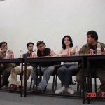 En el 2003, impartimos una conferencia en la BUAP, en puebla, nos fue muy bien.