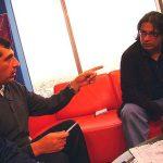 Fuimos invitados por nuestro gran amigo Aaron Soriano, gran cronista deportivo, a una entrevista por Terra TV, para internet,