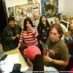 """Vinieron al Estudio del canal 52 a realizarnos una entrevista para el programa """"Verdad y Fama""""."""