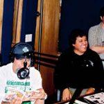 Junto con nuestro amigo Gabriel Chávez, quien prestara su voz al Sr. Burns de los Simpson, fuimos invitados al programa de radio de Yordi Rosado ¡Qué Pex!,por MVS Multivisión.