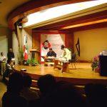 Después presentaron Música Tradicional Japonesa con Koto Japonés, interpretada por la Maestra Yoshiko Nishimura.