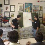 Desde siempre hemos enseñado a mucha gente el arte del cómic, sin embargo desde que teníamos nuestra tienda ¡Ka-Boom! Comics, comenzamos a dar tips ya de manera regular los fines de semana. Después de la tienda, se da seguimiento a los tips en las diferentes Bases ¡Ka-Boom!