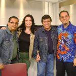 """Entrevista en el programa """"Alta Definición"""" con nuestro buen amigo Álvaro Cueva, para Proyecto 40."""
