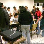 En el 2009, impartimos una conferencia y talleres, en la Universidad La Salle de Morelia, Michoacán.