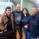 """Aquí los K! con Yohanan Díaz Vargas, un día antes de la entrevista que le hicieron a Óscar González Loyo, en el programa de """"Nueva Consciencia"""" de Tercer Milenio, de Jaime Maussan."""