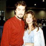 Dave Stevens (q.e.p.d.), fue creador de Rocketeer, aquí lo vemos con su esposa.