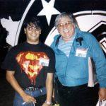 Horacio Sandoval con el genial Dick Giordano (q.e.p.d.), fue editor y dibujante de DC Comics.