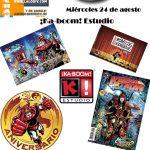 """También estuvimos en """"Acceso Directo"""" para platicar del 30 aniversario del comic """"Karmatron y los Transformables"""" y de """"Krónikas Kuadradas""""."""