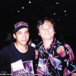 Eduardo Mendoza con Stan Sakai, creador de Usagi Yojimbo y colorista de Groo the wanderer.