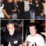 Los K! con John Romita Sr. y Jr. los verdaderos artistas de Spiderman.