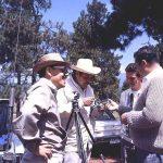 """Con el gran Gaspar Henaine """"Capulina"""" (q.e.p.d.), debido a que nuestro Director Artístico, Óscar González Guerrero (q.e.p.d.), dirigía el cómic de """"Las Aventuras de Capulina"""", convivimos mucho con la familia Henaine, en los años sesenta."""