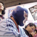 Hace unos años, realizamos el cómic de Blue Demon Jr., Susy Romero hizo el guión, Horacio Sandoval el dibujo y Tonatiuh Rocha el color.Convivimos mucho con el gran luchador, fuimos juntos a eventos y a expos, fue genial.
