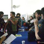 Nuestra octava participación, ahora en la Universidad Insurgentes Plantel Norte, en Abril del 2013. Como de costumbre, terminando la conferencia, los alumnos nos abordaron para seguir con sus preguntas y ver más de cerca nuestros portafolios.