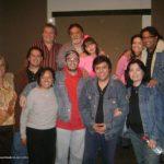 Los K! con nuestro querido amigo Pepe Romay (Q.E.P.D.), actor, productor, director, fotógrafo, musicalizador, editor y guionista de cine.