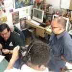 Reporteros de Contenido, Roberto Álvarez y Alex Gaspar vinieron al Estudio a realizarle una entrevista a Óscar González Loyo sobre su trayectoria y sobre Karmatrón.