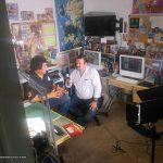 """Nuestros buenos amigos Victor Valdivia y Adrián Mateos, vinieron al Estudio para entrevistarnos para el programa de TV por Internet """"Albardán""""."""