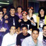Los K! de finales de los noventa, en la MECYF, con Alan y Sue Grant.