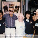 Los K! con el creador conceptual de casi todos los superhéroes de Marvel, el Maestro Stan Lee y su esposa(q.e.p.d)