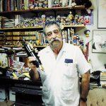 Cuando fuimos al Estudio de Sergio Aragonés en Ojai, CA en 1987.