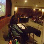 Nuestra doceava participación, ahora en la UNITEC Azcapotzalco, en Abril del 2013.