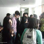 Nuestra séptima participación, ahora en la UVM plantel Tlalpan, en Marzo del 2013. Como de costumbre, terminando la conferencia, los alumnos nos abordaron para seguir con sus preguntas y ver más de cerca nuestros portafolios.