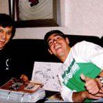 Con Yordi Rosado cuando nos entrevistó en su programa de radio.
