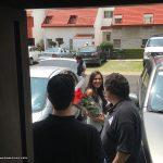 """Tuvimos la visita en el Estudio de Paty Torres y Milton Salgado reporteros de TV Azteca, para hacernos una pequeña entrevista para el Programa """"Ellas Arriba"""", Programa de revista que se transmitía por el canal Trece."""