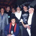 Aquí estamos con grandes glorias de la Historieta Mexicana, José Pacindo, Juan Alba (q.e.p.d.), Óscar González Guerrero, miembro de ¡Ka-Boom! Estudio (q.e.p.d.), Sixto Valencia (q.e.p.d.), y Antonio Gutiérrez (q.e.p.d.).