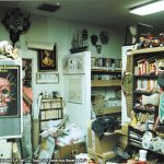 Cuando fuimos nuevamente al Estudio de Sergio Aragonés en Ojai, CA en 1997.