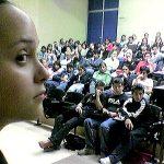 En el 2004 impartimos una conferencia en el plantel CCH de Naucalpan.