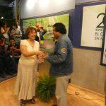 Después vino la entrega de constancias por parte de la Escuela de manos de la Arq. Margarita Acosta Mota.