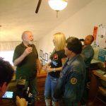 Entrevista para el entonces nuevo programa matutino Funny City de Cadena 3, Canal 28, hoy IMAGEN.