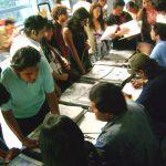 Así el sábado comenzó el congreso y mientras comenzaban nuestras conferencias, estuvimos conviviendo con los chavos Xalapeños haciéndoles dibujos y platicando de lo que hace nuestro Estudio.