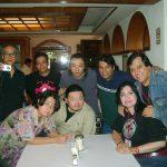 Aquí posando con los invitados Japoneses, todos unos maestrazos en sus diferentes disciplinas artísticas. Motoki Ohno, Mariko Koisumi, Shigeru Sekiguchi y Masaki Motoi.