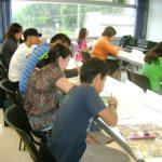 Por la tarde, comenzó nuestro taller sobre guionismo y dibujo para cómic y animación.