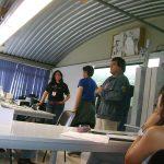 Después, volvimos con el grupo de la tarde, donde los cuatro K! participamos.
