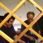 Tuvimos el honor de que nos visitara en el Estudio, Mazaki Motoi, Masaki , vive en Tokio y es crítico de arte, curador y especialista en Historia del arte y cultura visual japonesa antigua y contemporánea.