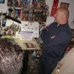 Tuvimos la visita en el Estudio de Mike Kunkel -Animador, Diseñador de Personajes y guionista de Televisión y Cine en Empresas como Walt Disney Studios, Warner Bros., Cartoon Network, Nikelodeon, Sony Entertainment y Universal Pictures.