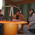 """Nuestro amigo Eduardo Velasco, nos invitó a una entrevista para Radio Mexiquense. Adriana Córdova nos entrevistó para sus programas """"La Banda"""" e """"Intercambio""""."""