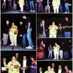 Los Ganadores de la Casita de Terror de Bart Simpson Número 5. Y recibieron el premio de la mano del propio Will Eisner (q.e.p.d.).