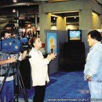 Fue tan sonada nuestra participación con los Simpson y directamente con Matt Groening, que medios de comunicación de México, nos entrevistaron en la misma Comic Con.