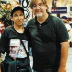 Eduardo Mendoza de ¡Ka-Boom! Estudio con el genial Matt Groening.