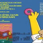"""Óscar Gonzalez Loyo y Horacio Sandoval fueron invitados a la presentación del libro """"Los Simpson: Sátira, cultura popular y poder suave"""", de la autora la Dra. María Cristina Rosas González."""