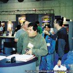 Horacio Sandoval y Óscar González Loyo, fueron llamados al stand de Bongo Comics, en la Comic Con de San Diego, para autografiar y realizar sketches de los personajes a los fans de la familia amarilla.
