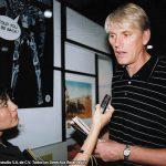 Los K! con Mike Richardson fundador y editor de Dark Horse.