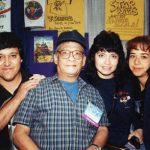 Los K! con con Alfredo Alcalá (q.e.p.d.) dibujante de Conan y Star Wars.