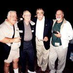 Roman Arámbula ( Rocky y Bullwinkle), Dave Thorne (q.e.p.d.), Sergio Aragonés y Óscar González Guerrero (q.e.p.d.).
